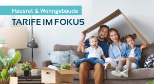 Besser aus einer Hand: Wohngebäude- und Hausratversicherung