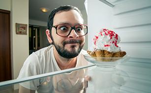 Holen Sie sich ein Stück vom Kuchen!