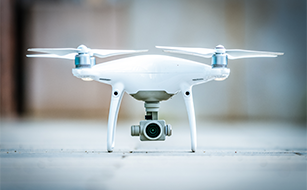Fotografen und Drohnen