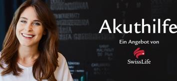 Krebs als Ursache für BU: Die neue Akuthilfe von Swiss Life leistet sofort