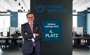MAXPOOL unter den Top-5 der beliebtesten Maklerpools
